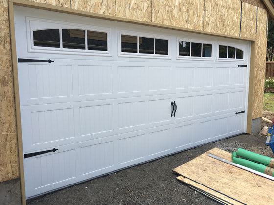 garage door installation professional